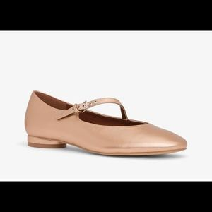 Matt & Nat anais Mary Jane shoe sz 8 rose gold